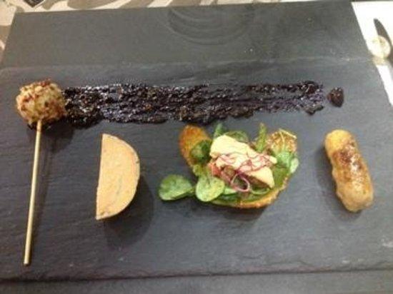 Restaurant La Côte : 4 préparations de foie gras