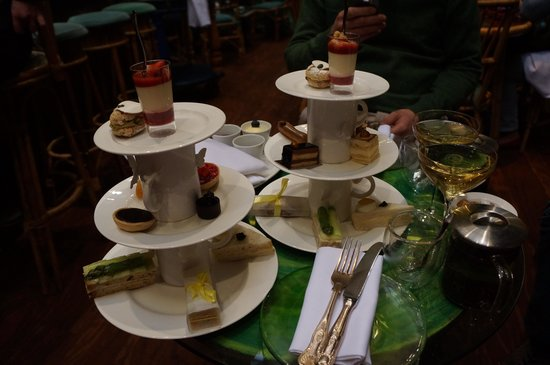 Gluten Free And Normal Afternoon Tea - Picture Of Sketch Glade London - TripAdvisor