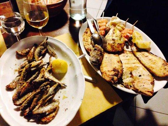 Capo Nero Tavern: grigliata + sardoncini scottadito