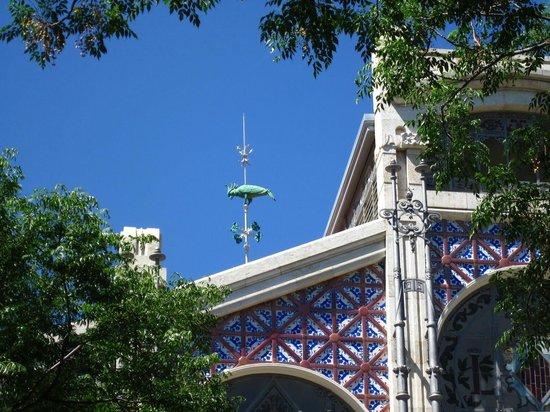 Central Market (Mercado Central) : Detalle cúpula