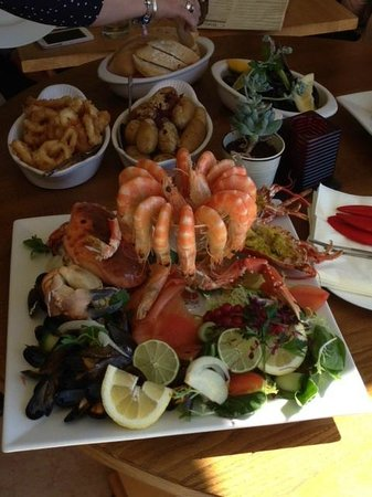 Offshore Bar and Bistro Cornwall: Seafood Platter