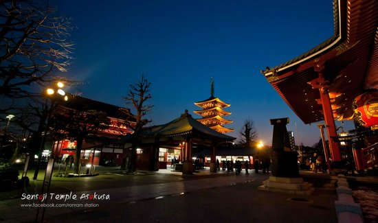 Asakusa : sensoji temple