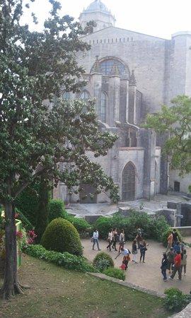 Catedral de Girona: Paseo arqueologico