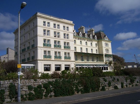 A sunny day at the Falmouth Hotel