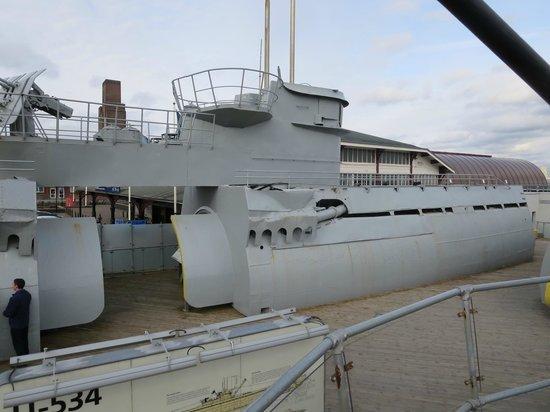 Albert Dock : U534