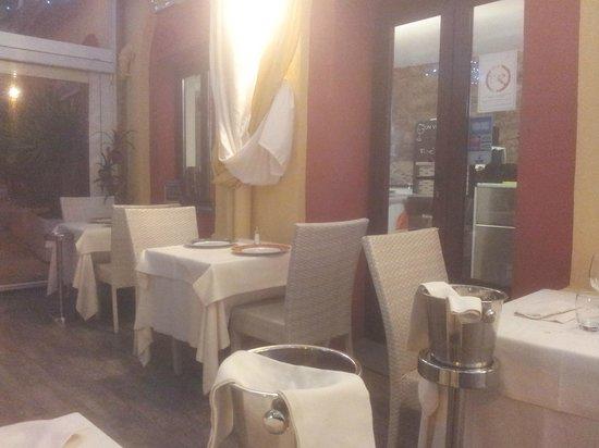 Le Cirke : Vista tavoli all'aperto