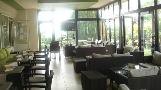 Hotel Philippion: spor caffe on garden