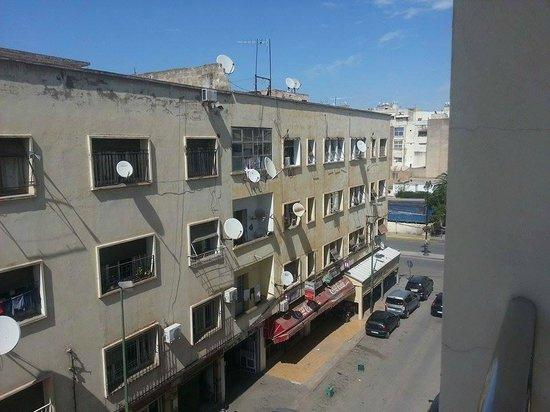 Hotel Perla: vue depuis le balcon