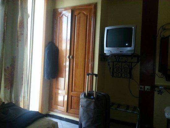 Hotel Perla: la chambre