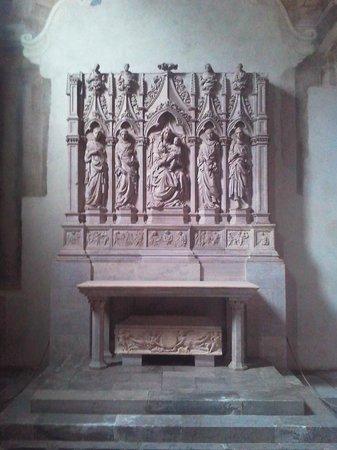 Basilica of San Frediano : Il dossale dell'altare della cappella della famiglia Trenta