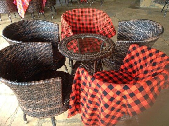AA Lodge Amboseli: Bar