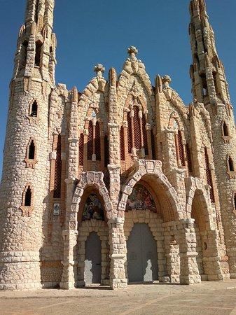 Santuario de Santa Magdalena: Fachada del Santuario