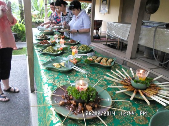 Paon Bali Cooking Class: amazing food