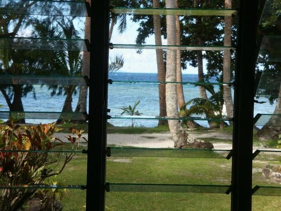 Naigani Island Resort: View from Bedroom
