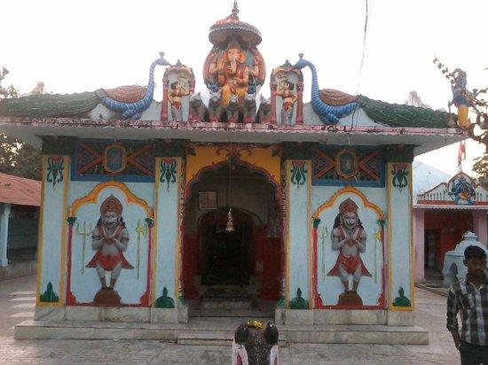 Sambalpur, Indien: sri Mandhata Mahadev front