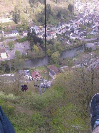 Vianden Chairlift : Descente