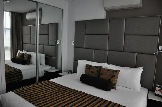 Meriton Suites Zetland: Bed room