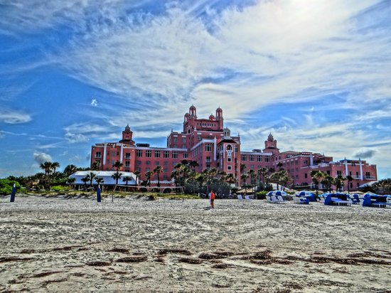 The Don CeSar: Hotel Impressionnant !!