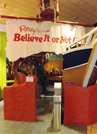 Ripley's Believe It Or Not!: Entrance to the Odditorium