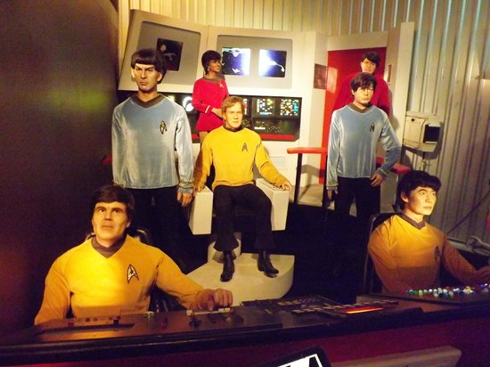 Ripley's Believe It Or Not!: The crew of the USS Enterprise must have just been attacked by Klingons - look at that hair!