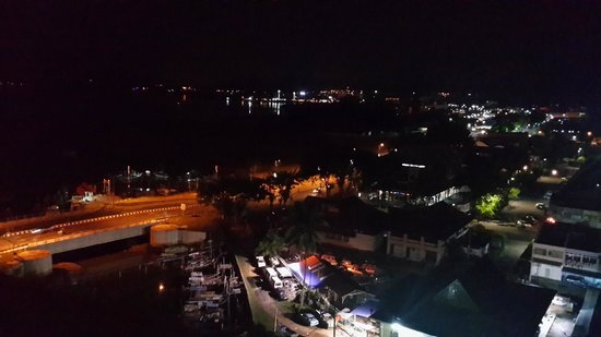 My Hotel Langkawi: Night time view from my room