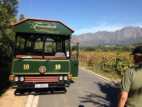 """Franschhoek Wine Tram: Der Wein """"Bus"""""""