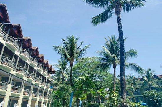 Phuket Marriott Resort & Spa, Merlin Beach: taken from our room
