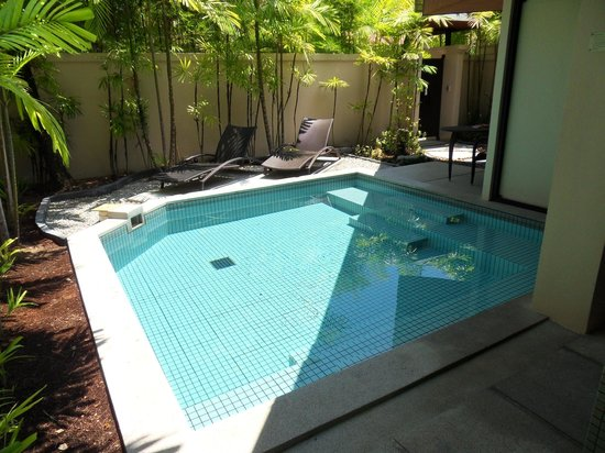 Cachet Resort Dewa Phuket - Nai Yang Beach: Our own private pool. Fantastic!