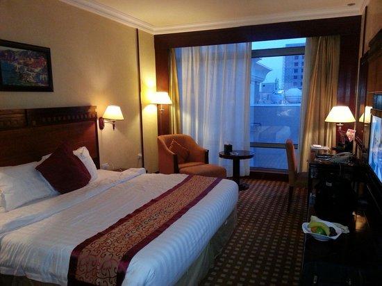 Ramada Riyadh: Regular room facing the poolside (back of the hotel i suppose)