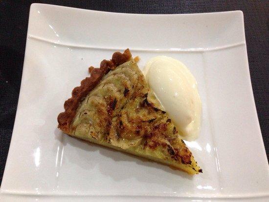 HANgoût Restaurant : Banana tart