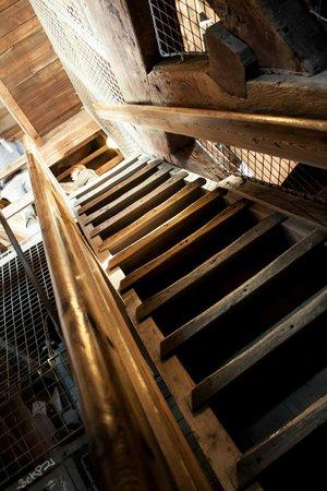 Erlöserkirche (Vor Frelsers Kirke): The steps got narrow
