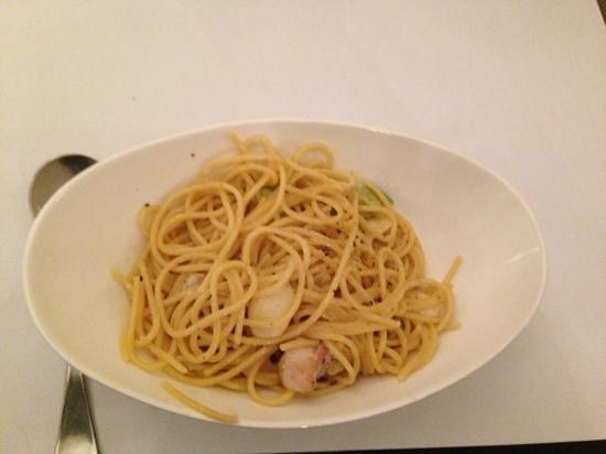 Pins on Lurline: spaghetti with chicken and avocado