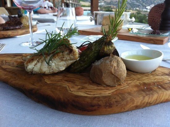 Blue Palace, a Luxury Collection Resort & Spa, Crete : restaurant Flame