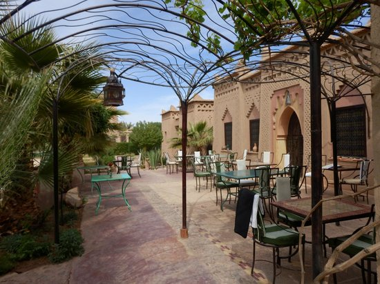 Sawadi: terrasse