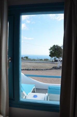 Evgenia Villas & Suites : Sea view