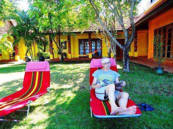 Thaidaho Vista Resort: angelo in relax
