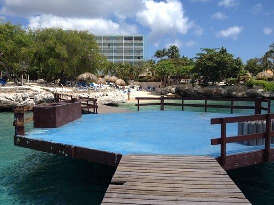 Hilton Curacao: Pier