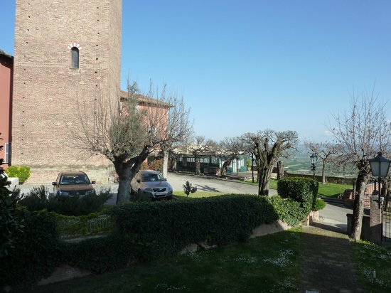 Hotel Castello Santa Vittoria: geweldig uitzicht
