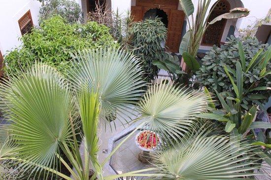 Riad Siwan: the atrium