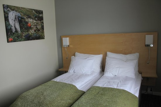 Thon Hotel Kautokeino: The pillows and the douvets are so good!