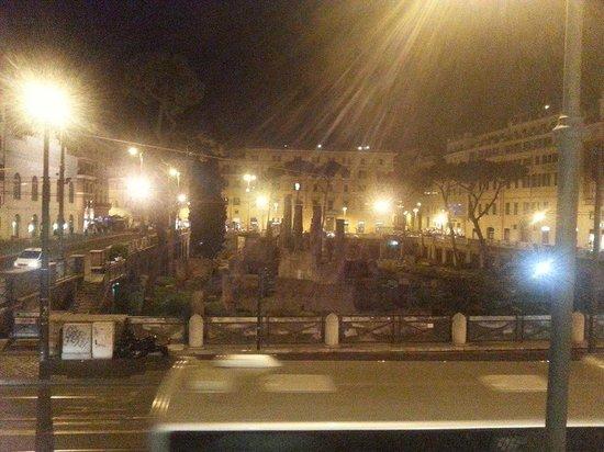 A Via dei Giubbonari 23: view from our room