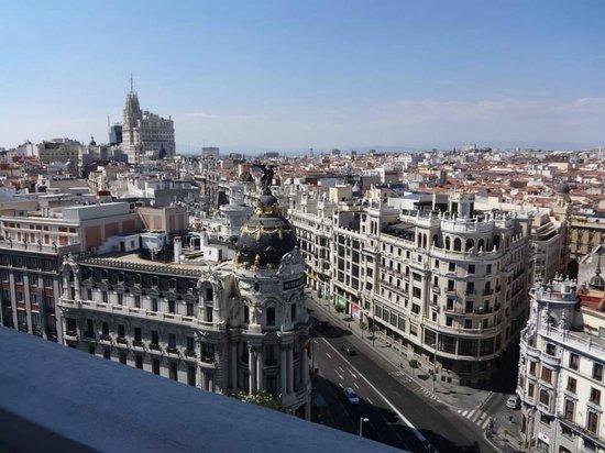 View From Cba Circulo De Bellas Artes Fine Arts Circle