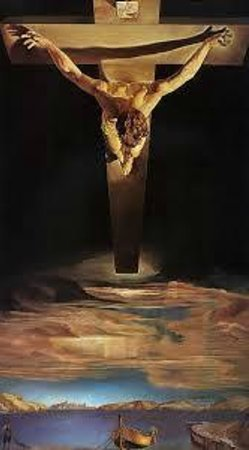 Kelvingrove Art Gallery and Museum: Christ of St John of the Cross, Salvador Dali