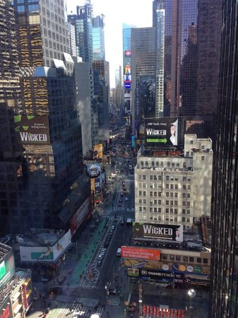 Novotel New York Times Square : View from room 2005 - picture doesn't capture how amazing the view truly was