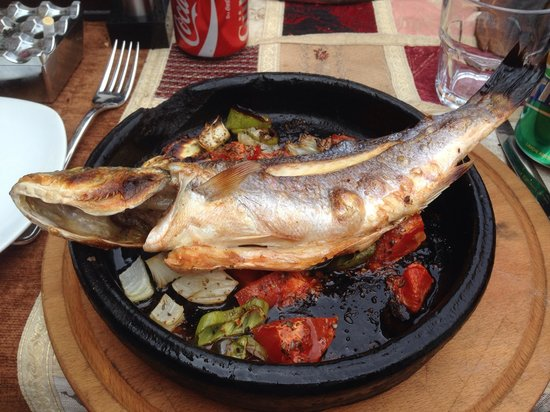 Barbecue House : Sea bass fish .. Ymy ymy in my tummy :)