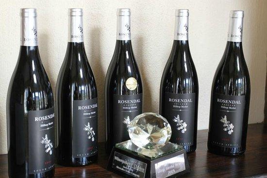 Rosendal Winery & Wellness Retreat: The award winning Rosendal red