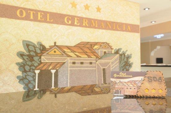 Otel Germanicia : RESEPSİYON
