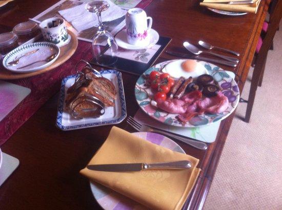 Ye Olde Globe & Chequers: Breakfast