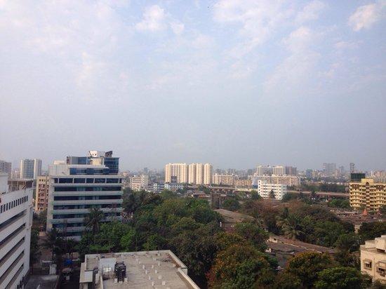 Grand Hyatt Mumbai : View from my room on 4th floor