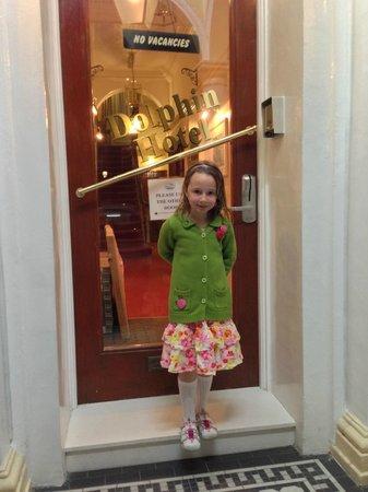 Dolphin Hotel : Front Door